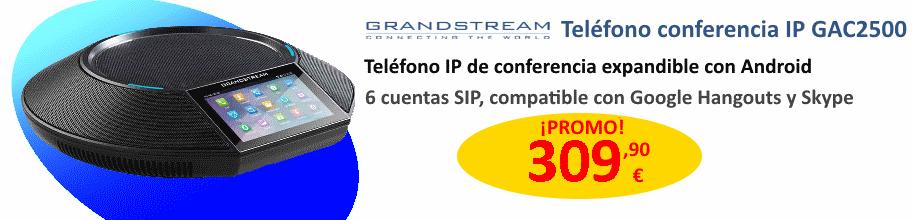Grandstream GAC2500 Teléfono IP de audioconferencia con Android por 309,90 €