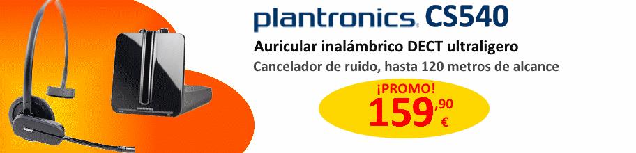 Plantronics CS540 auricular inalámbrico DECT para teléfoo de escritorio por 159,90 €