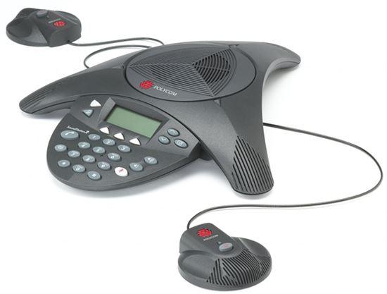 Imagen de Polycom SoundStation 2 EX + kit de micrófonos