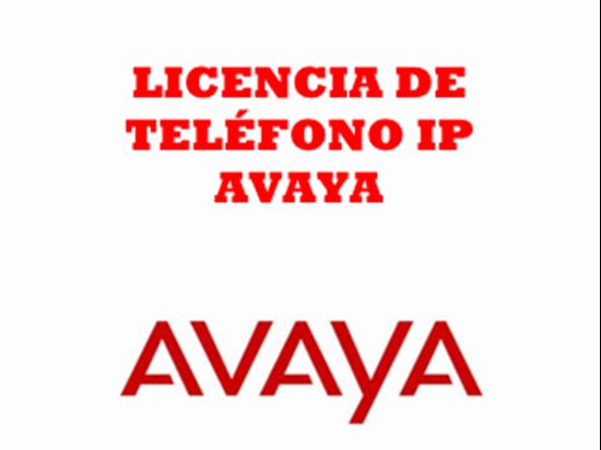 Imagen de Avaya Licencia Teléfono IP Avaya