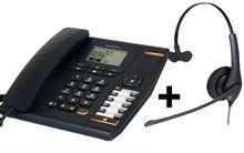 Imagen de Alcatel Temporis 780 y auricular Jabra BIZ 1500 con cable