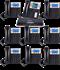 Pack Centralita Grandstream UCM6202 con 8 telefonos GXP1625 y 1 GXP2130