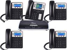 Imagen de Centralita Grandstream UCM6202 con 4 teléfonos GXP1625  y 1 GXP2130