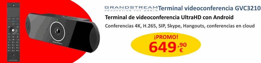 Equipo de Videoconferencia Grandstream UltraHD GVC3210 por 649,90 €