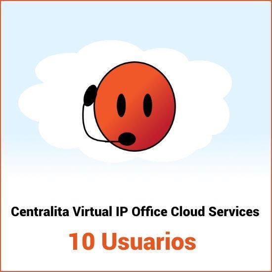 Centralita virtual Avaya IP Office Cloud Services 10 usuarios