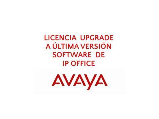 Imagen de Avaya Licencia UPGRADE última versión Software