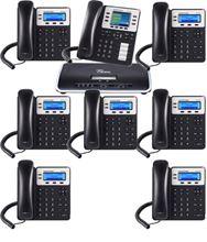 Imagen de Centralita Grandstream UCM6202 con 7 teléfonos GXP1625  y 1 GXP2130